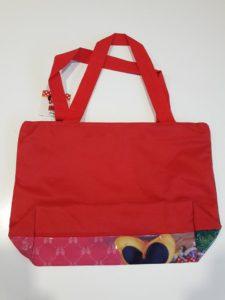 Sun City plážová taška kabelka Minnie červená – levnedisney da8dcc643a5