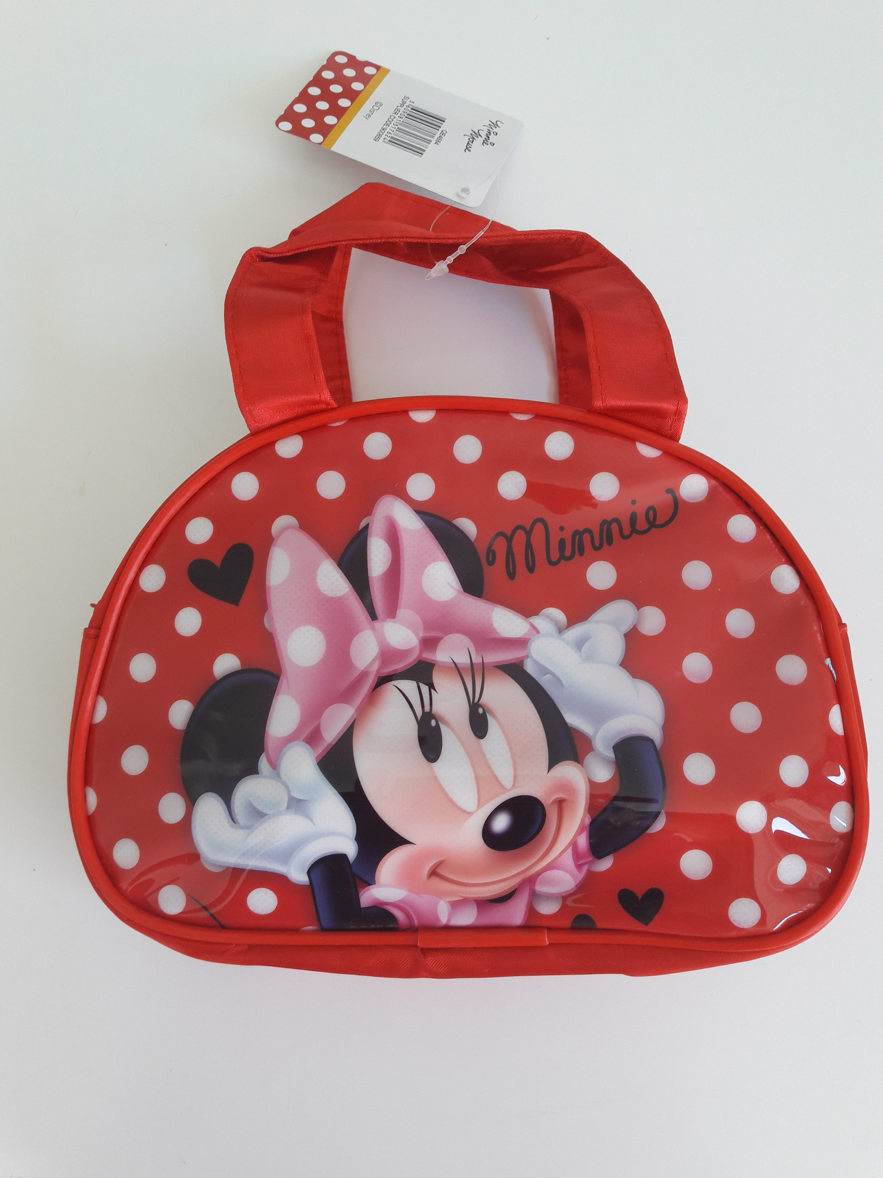 Sun City dívčí kabelka do ruky Minnie červená – levnedisney 24358d67e98