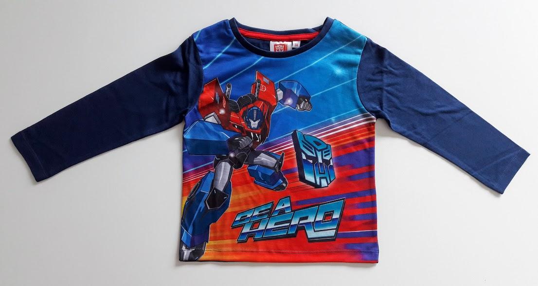 f95dc3802afa Sun City chlapecké tričko s dlouhým rukávem Transformers – levnedisney